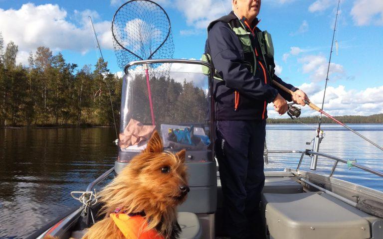 Fishing and cottage on Lake Saimaa